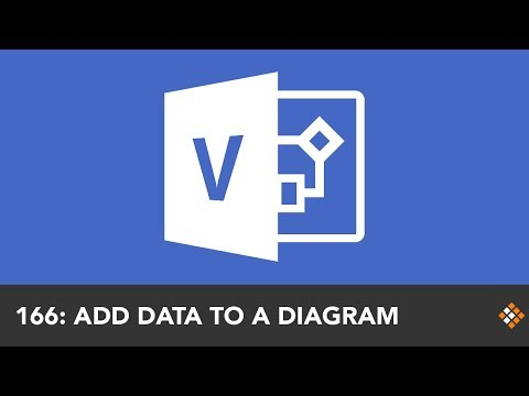 Adding Data to a Visio Diagram from Excel | Everyday Office 066