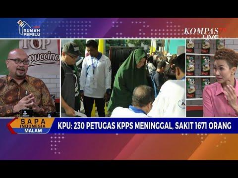 KPU: 230 Petugas KPPS Meninggal, 1.671 Sakit