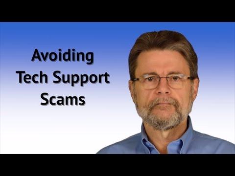 Avoiding Tech Support Scams