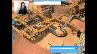 RollerCoaster Tycoon 3 EP 9 I know how to treat VIP