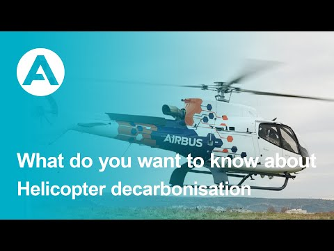 What do you want to know about: Helicopter decarbonisation