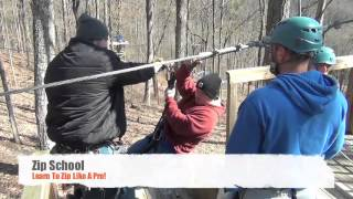 Smoky Mountain Ziplines in Pigeon Forge, TN
