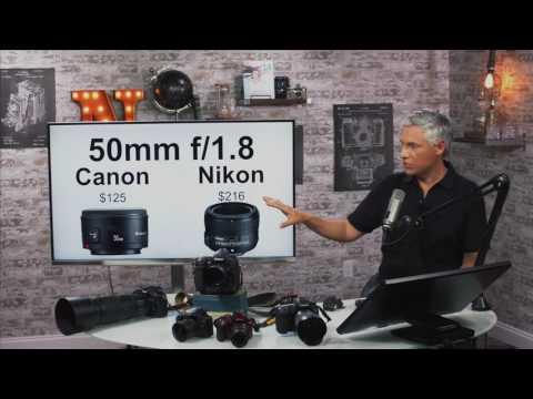 Canon vs Nikon: 2016 Edition (READ DESCRIPTION)