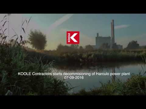 KOOLE Contractors starts decommissioning of Harculo Power Plant