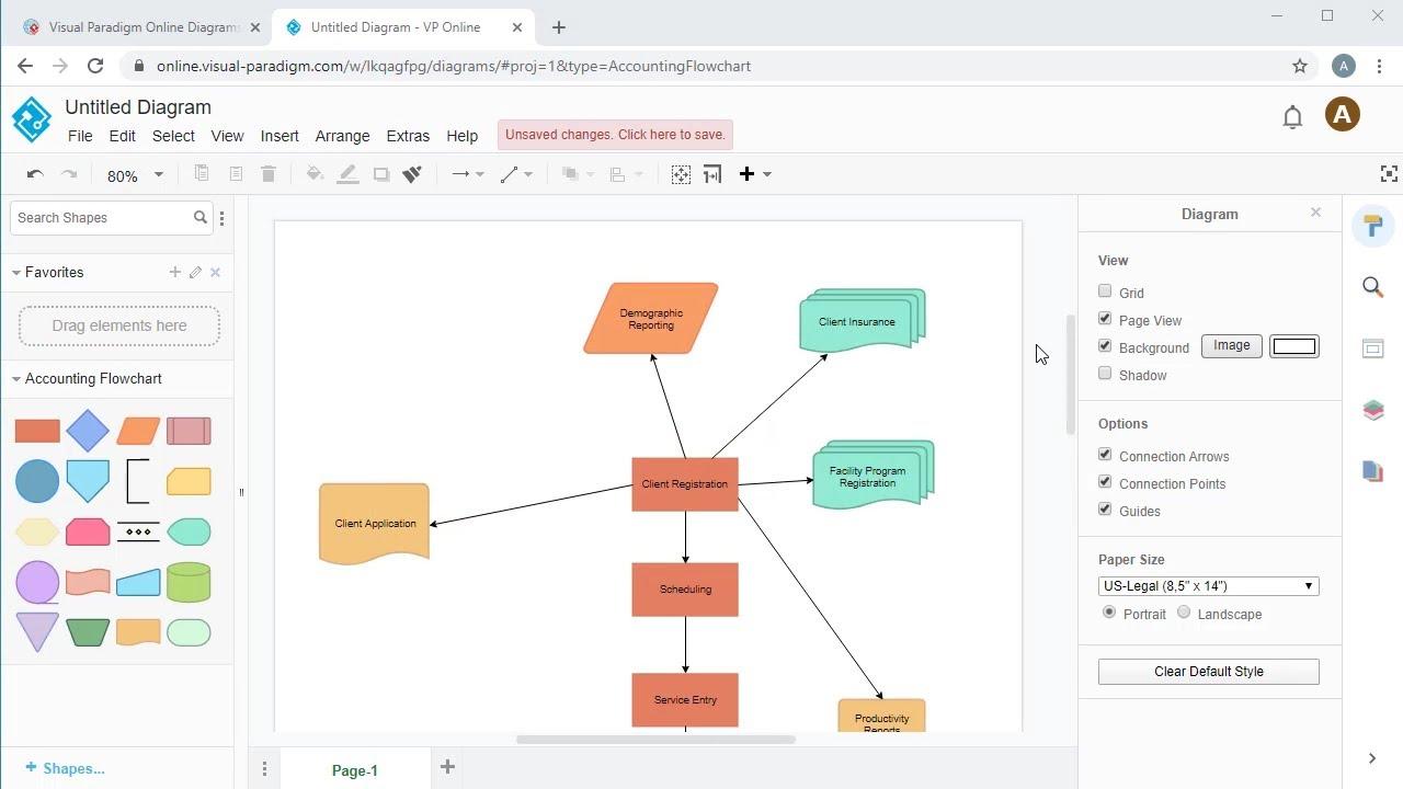 Create Accounting Flowchart Online - YouTube