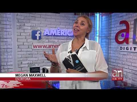 la-escritora-megan-maxwell-habla-de-su-nuevo-libro-en-exclusiva-con-americateve