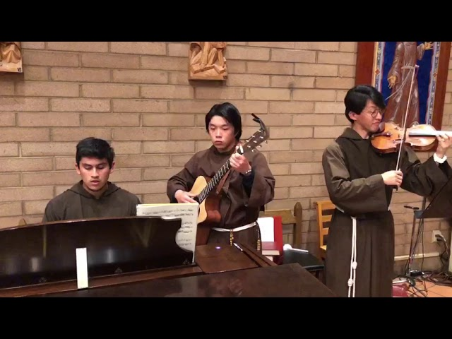 A Beautiful Performance by Capuchin Novices
