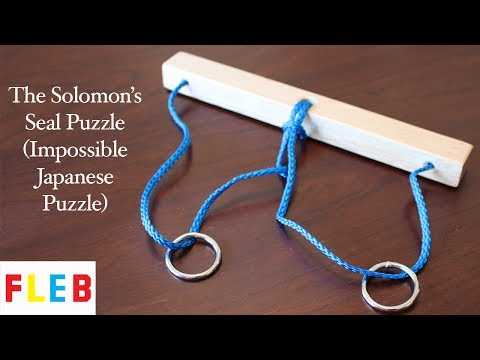 The Solomon's Seal Puzzle (Impossible Japanese Puzzle)