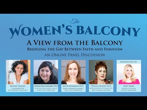 """A View from the Balcony"" - Faith, Feminism & 'The Women's Balcony'"