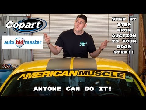 HOW TO Buy Auction Cars Without A Dealers Licenses From Copart!