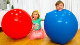 Max y Katy su historia sobre globo de agua