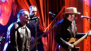 Bono & The Edge Feat. Elvis Costello - Stuck In A Moment You Can't Get O