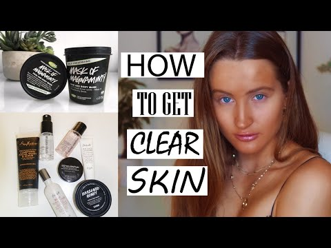 How To Get CLEAR Skin! | Olivia Trowell