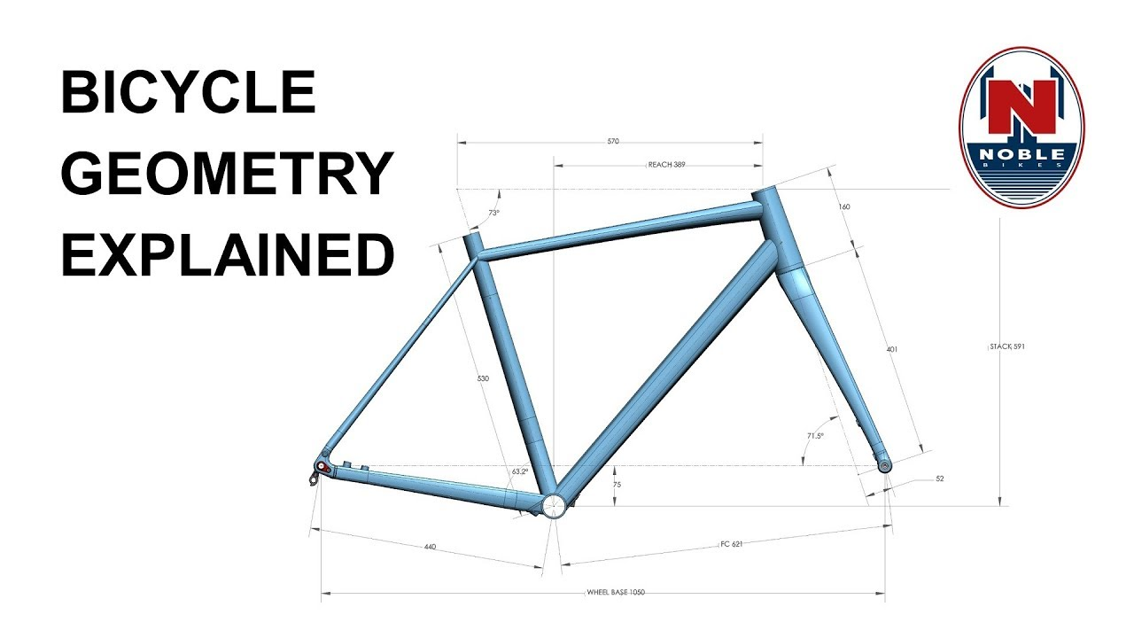 Bike Geometry Explained - YouTube