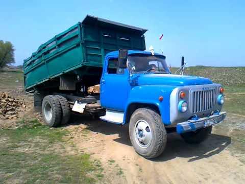 ГАЗ 53 самосвал - YouTube