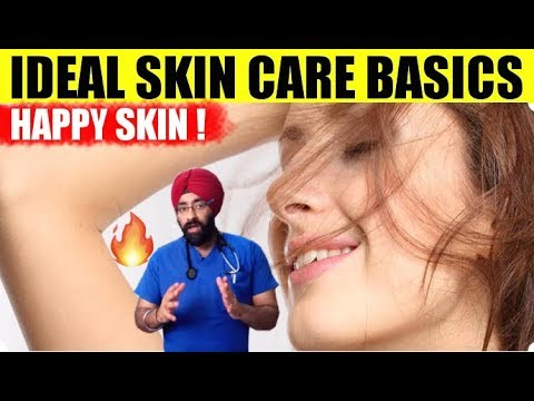 Keep Your SKIN HAPPY ! IDEAL SKIN CARE BASICS | All Natural | Explained in English by Dr.Education