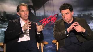 300: Rise Of An Empire: Noam Murro & Kurt Johnstad Official Movie Interview Part 2 Of 2
