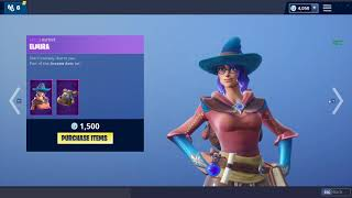 *NEW* ELMIRA & CASTOR SKINS! (Fortnite Item Shop 15th November)
