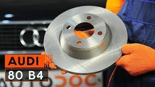 Hoe Ruitenwisserstangen vervangen AUDI 80 (8C, B4) - video gratis online