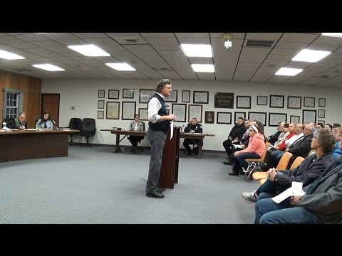 Special Meeting of the Bridgeport Township Board  November 17th, 2014