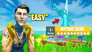 Fortnite Except I Can Only Loot PLAYERS