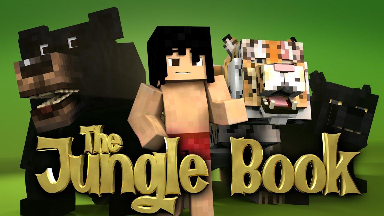 minecraft parody - the jungle book