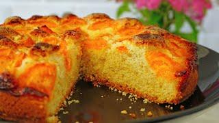 Абрикосовый пирог! 🍑 НЕРЕАЛЬНО ВКУСНЫЙ | Apricot cake! | Кулинарим с Таней