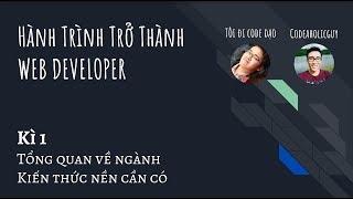 Lộ trình Web Developer - Phần 1: Tổng quan về ngành và những kiến thức nền cần có