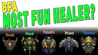 BfA MOST FUN HEALER IN M+ (RANKED) | Healing Class Gameplay & DPS - WoW Patch 8.2.5
