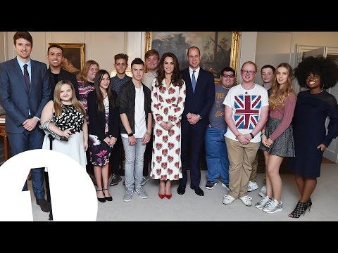 BBC Radio 1's Teen Heroes Meet The Duke and Duchess Of Cambridge