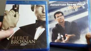 Pierce Brosnan 007 Ultimate Edition + Tomorrow Never Dies Blu-ray Unboxing