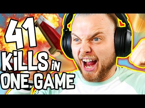 41 KILLS IN ONE GAME OF BEDWARS!! - Minecraft Mini Game