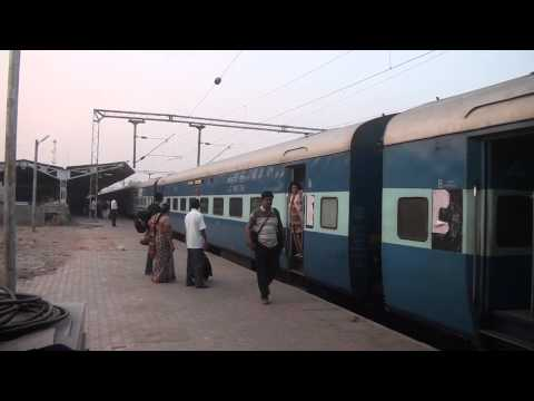 West Coast Express Entering Coimbatore Jn
