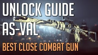 BF4 How to unlock the AS VAL - Co Pilot Assignment - Second Assault Weapon - Battlefield 4