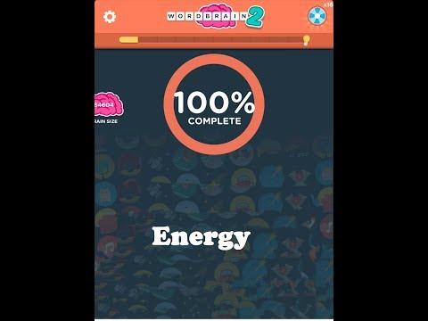 Wordbrain 2 Energy Answer Word Expert 3x4