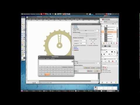 GIMP 2.7 Tutorial + CLT Plugin: - The Gears. Part #1