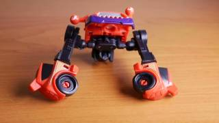обзор трансформер десептикон Stop Motion video of decepticon Clampdown from Robots in Disguise
