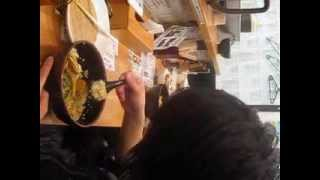 7分34秒 渋沢慎吾 (つくば鳥人間の会) 早食い メガ盛り 1キロカレ...