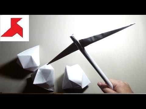 Как сделать бумажного кирку 23