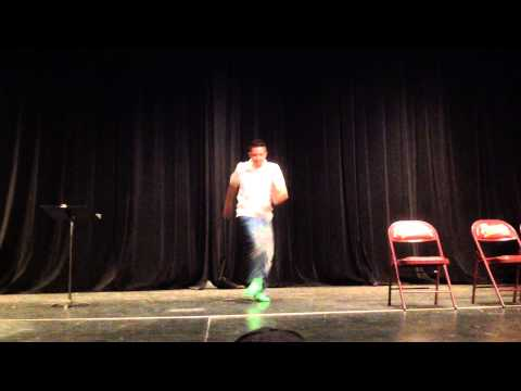 Mr. Merendon Dancing at Toro Canyon Middle School