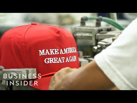 Inside The Trump MAGA Hat Factory
