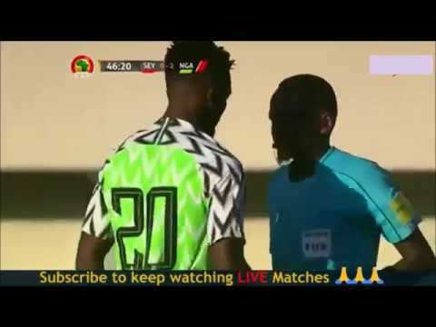 Seychelles 0 vs 3 Nigeria AFCON Qualifiers - Highlight 08 - 09 - 2018 thumbnail