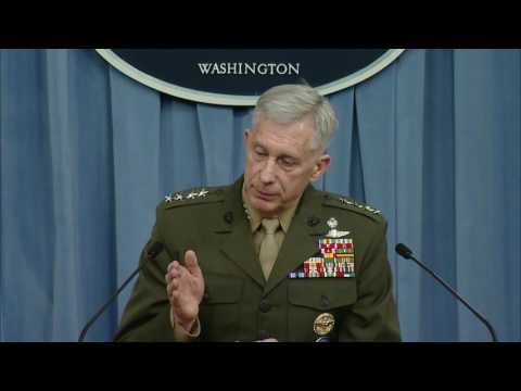 AFRICA/LIBYA w/CC: 3-24-17. Gen. Waldhauser, Africa Command Pentagon Briefing w/ Press Q&A.