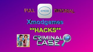 HOW TO USE XMODGAMES IN CRIMINAL CASE (FULL TUTORIAL)