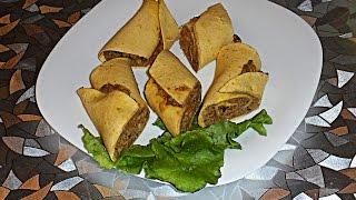 Рулеты  из мексиканской лепешки с печенью; месксиканская  лепешка; лепешка-тортилья