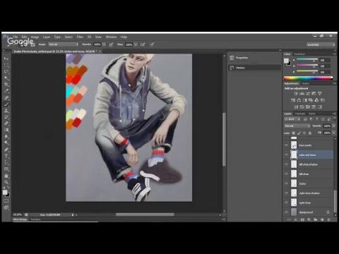 Photoshop Photostudy   OC Drawing