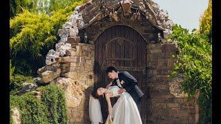 Нежное, романтичное свадебное видео