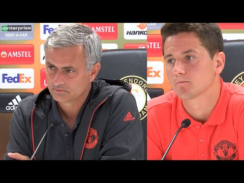 Jose Mourinho FULL PRESS CONFERENCE! Feyenoord vs Manchester United