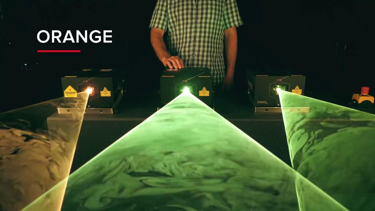 Kvant Laser Color Balance Modus