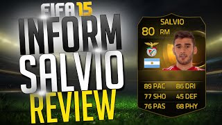 FIFA15: IF SALVIO REVIEW (80) + INGAME STATS!
